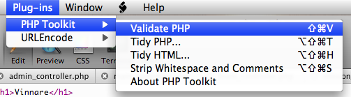 PHP Toolkit