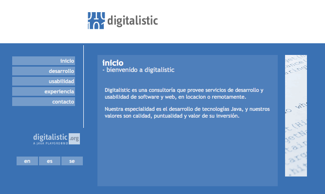 Digitalistic.com 2003-2006